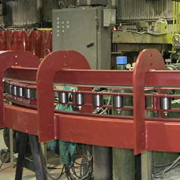 custom conveyor system component