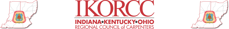 Indiana, Kentucky, Ohio regional council of carpenters logo