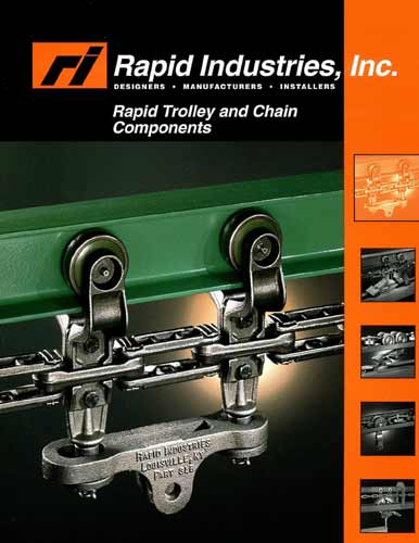trolley & chain components guide cover